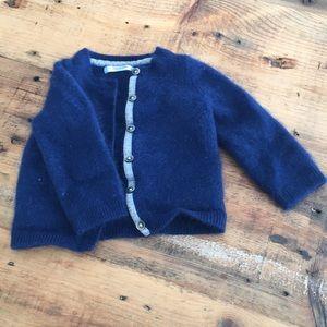 Baby Boden Cashmere sweater. Sz 6-12 months